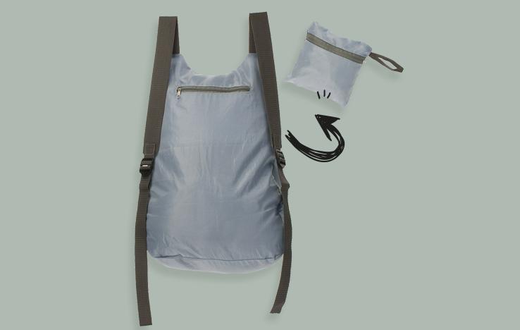 rucksack aus rPET