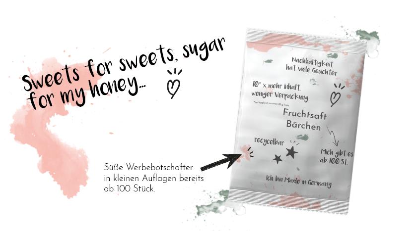 süße Werbung