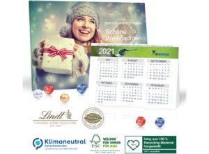 Adventkalender mit Jahresplaner