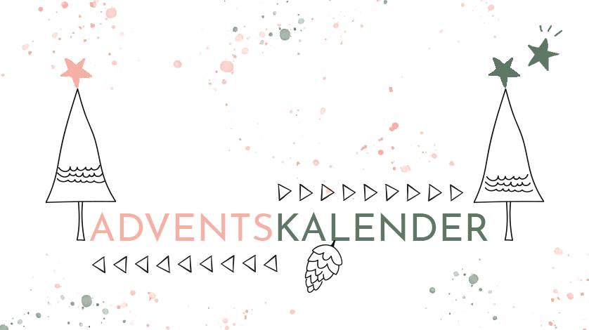 Adventskalnder mit Logo