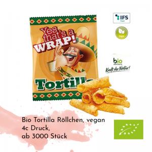 Bio Tortilla Röllchen