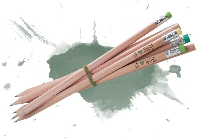 Bleistifte als Streuartikel